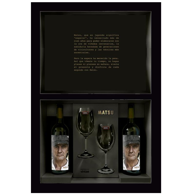 Estuche Matsu 2 botellas: